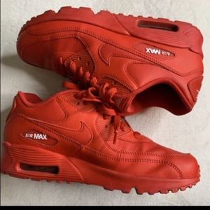 RED AIR MAX FIT WOMEN 8